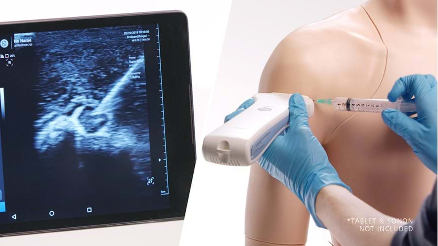 Limbs & Things - Shoulder Injection Trainer - Ultrasound Guided